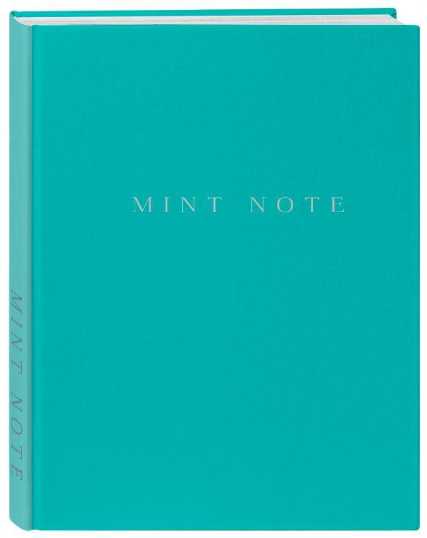 """Mint Note. Стильный блокнот с """"мятными"""" страницами"""