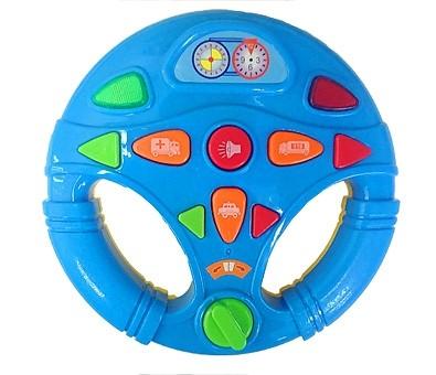 Музыкальная развивающая игрушка. МАЛЕНЬКИЙ ВОДИТЕЛЬ (Арт. И-4767)