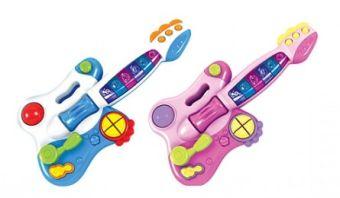 Музыкальная развивающая игрушка. МОЯ ГИТАРА (Арт. И-4770)