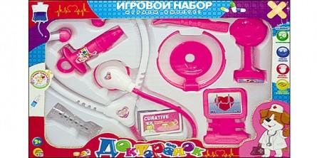 Игровой набор доктора. ДОКТОРЕНОК-10 (Арт. И-7111)