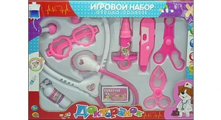 Игровой набор доктора. ДОКТОРЕНОК-11 (Арт. И-7112)