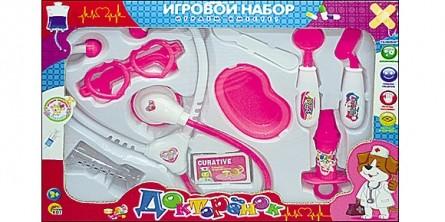 Игровой набор доктора. ДОКТОРЕНОК-9 (Арт. И-7110)