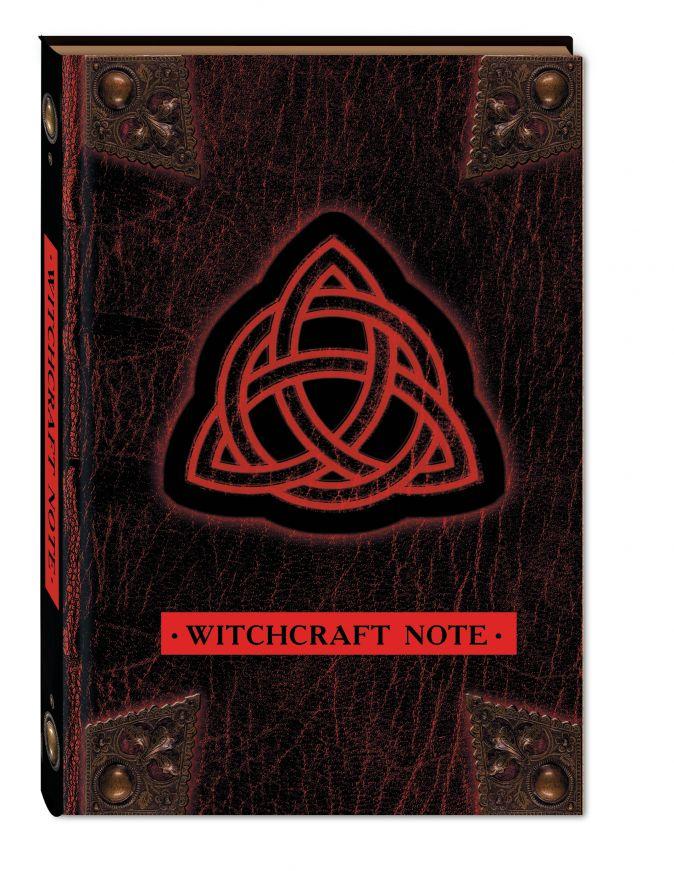 Зачарованный блокнот для записей и скетчей Witchcraft Note, 96 листов