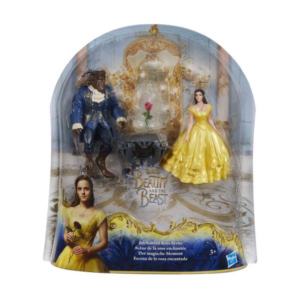 DISNEY BEAUTY & THE BEAST Набор Бэлль, Чудовище и роза (маленькие куклы) (B9169) DISNEY BEAUTY & THE BEAST