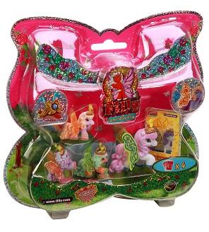 Набор игровой Filly Бабочки с блестками «Волшебная семья» Filly (Dracco)