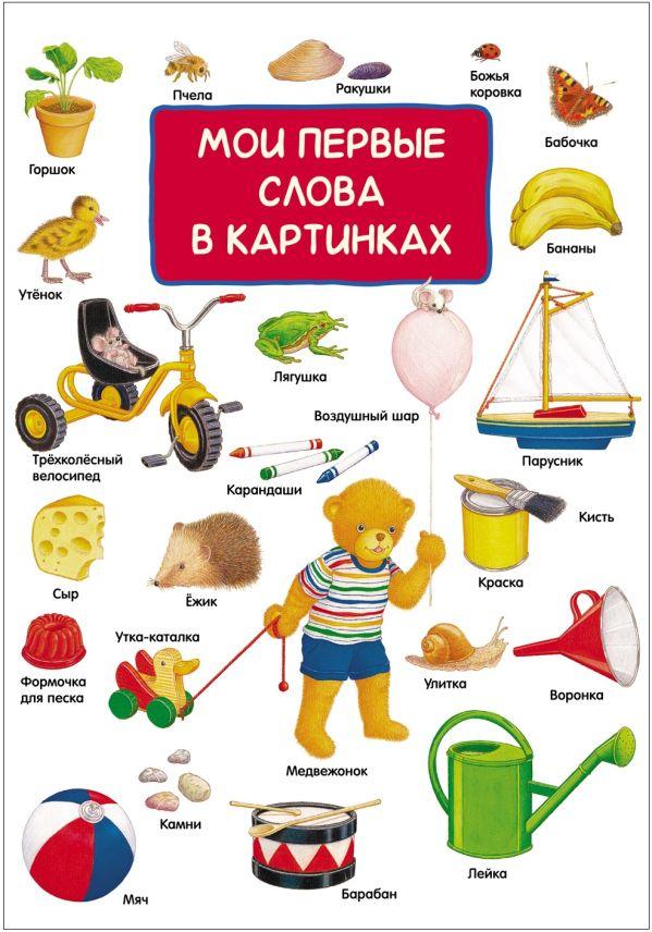 Мои первые слова в картинках Мазанова Е. К.