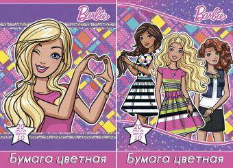 Набор бум цв д/дет тв 10цв 20л Пап 198*290 B953/2-EAC ВД лак Barbie Barbie