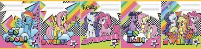 Тетр 12л скр А5 кл карт MP33/5-EAC ВД лак My Little Pony - фото 1