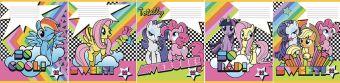 Тетр 12л скр А5 кос лин карт MP34/5-EAC ВД лак My Little Pony