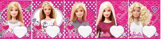 Тетр 24л скр А5 кл карт B956/5-EAC полн УФ лак Barbie