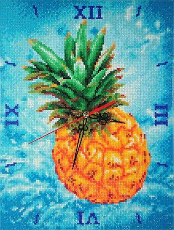 Алмазные часы. Сочный ананас (7304002-P )