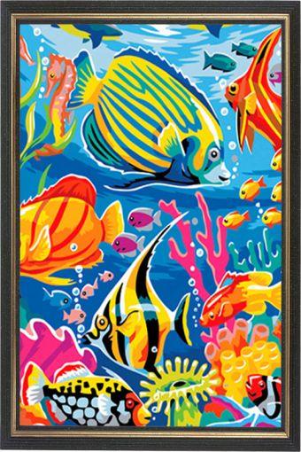 Картины со стразами. Подводный мир (CK007)