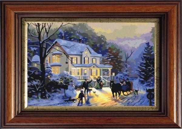Картины со стразами. Зимние гулянья (CK012)