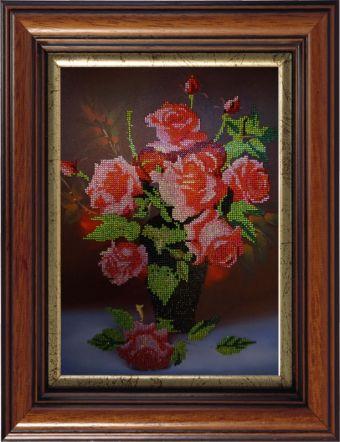 Картины со стразами. Букет роз (CK079)