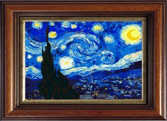 Картины со стразами. Звездная ночь,Ван Гог (CKC124)
