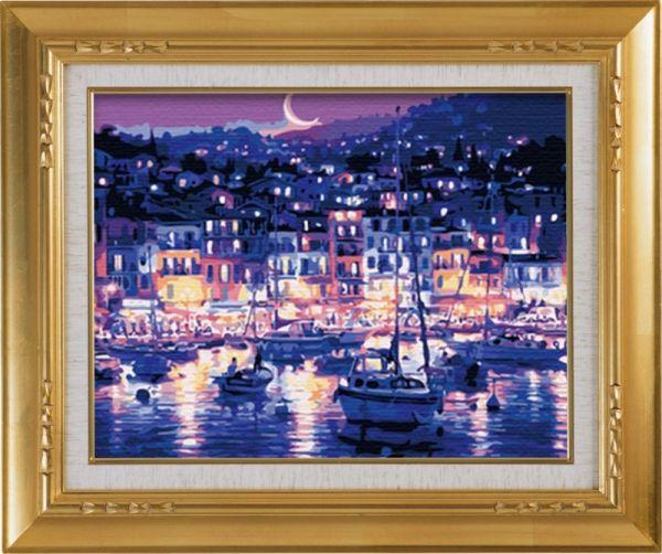 Картины со стразами. Ночная гавань (CKC145)