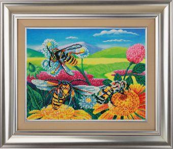 Мозаичные картины. Пчелы и клевер (10021)