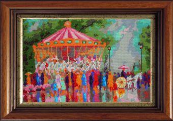 Мозаичные картины. Весенние гуляния (MO048)