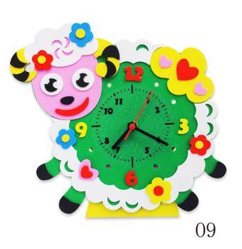 Часы детские. Овечка часы - набор для творчества из Фоамирана (CL009)