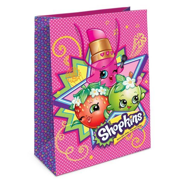 """Пакет подарочный """"Шопкинс"""" 350*250*90 SHOPKINS"""