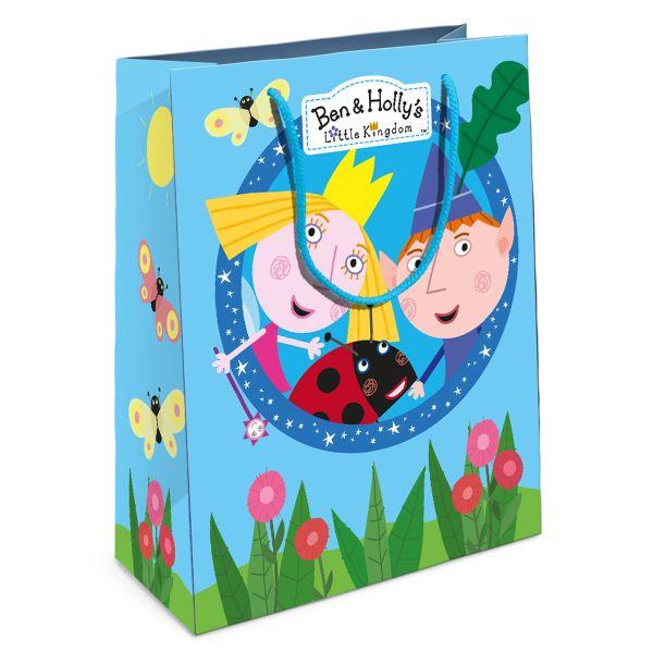 """Пакет подарочный """"Бен и Холли"""" 230*180*100 Ben&Holly"""
