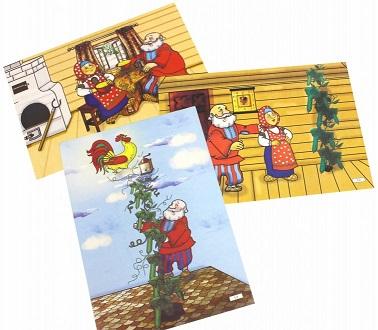 """Комплексные занятия по речевому, познавательному, художественно-эстетическому развитию детей 4-7 лет на основе сказки """"Петушок Золотой гребешок и чудо - фото 1"""