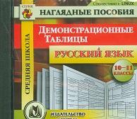 Русский язык. 10-11 классы. Демонстрационные таблицы. Компакт-диск для компьютера - фото 1