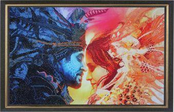 Мозаичные картины. День и Ночь - мозаичная картина (10025)