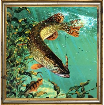 Мозаичные картины. Улов - мозаичная картина (303002)
