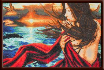 Мозаичные картины. Морской бриз - мозаичная картина (MO038)