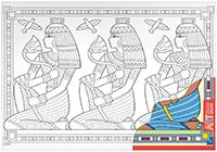 АРТ. Основа для творчества большая. Египет