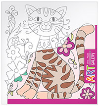 АРТ. Основа для творчества малая. Кот арт основа для творчества малая кот