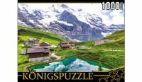 Königspuzzle. ПАЗЛЫ 1000 элементов. КБК1000-6458 ГОРНЫЙ ПЕЙЗАЖ