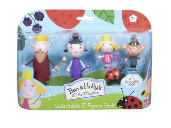 Набор 5 фигурок Бен и Холли ТМ B&H Ben&Holly