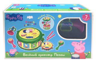 Набор муз.инструментов ТМ Peppa Pig, в кор. Peppa Pig