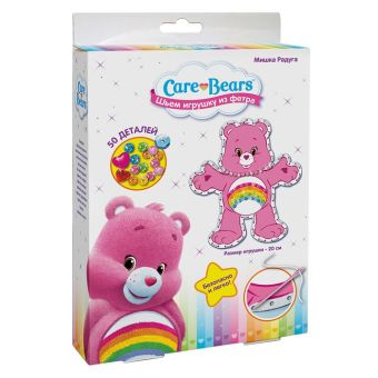 "Шьем игрушку из фетра Мишка ""РАДУГА"", Care Bears Заботливые мишки"