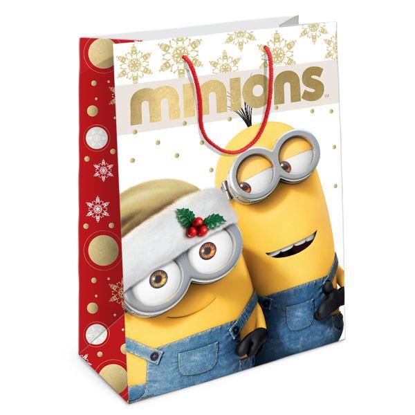 """Пакет подар. """"Рождество Миньонов"""" 350*250*90 Universal Миньоны"""