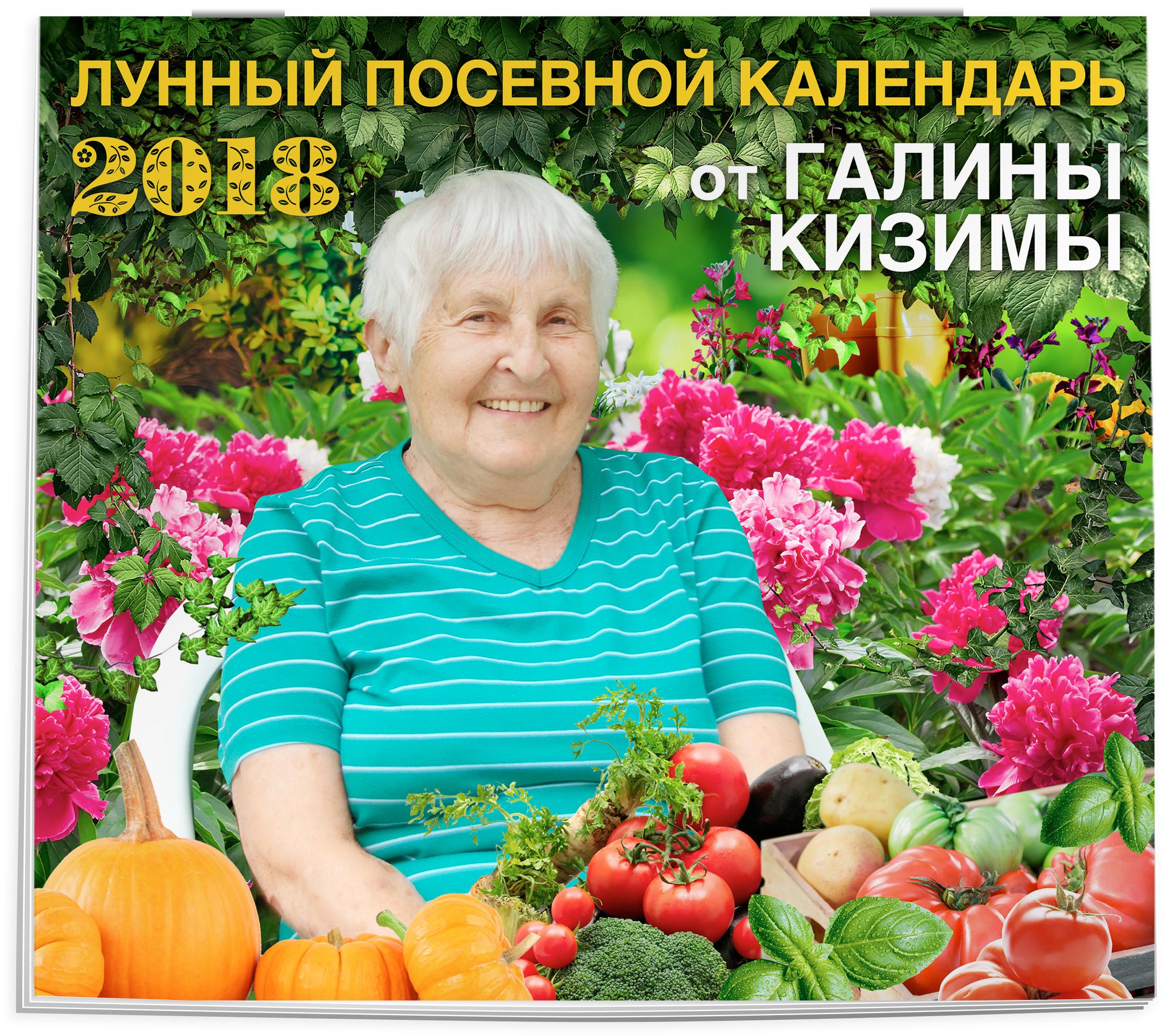 Настенный Лунный календарь садовода-огородника 2018 от Галины Кизимы от book24.ru