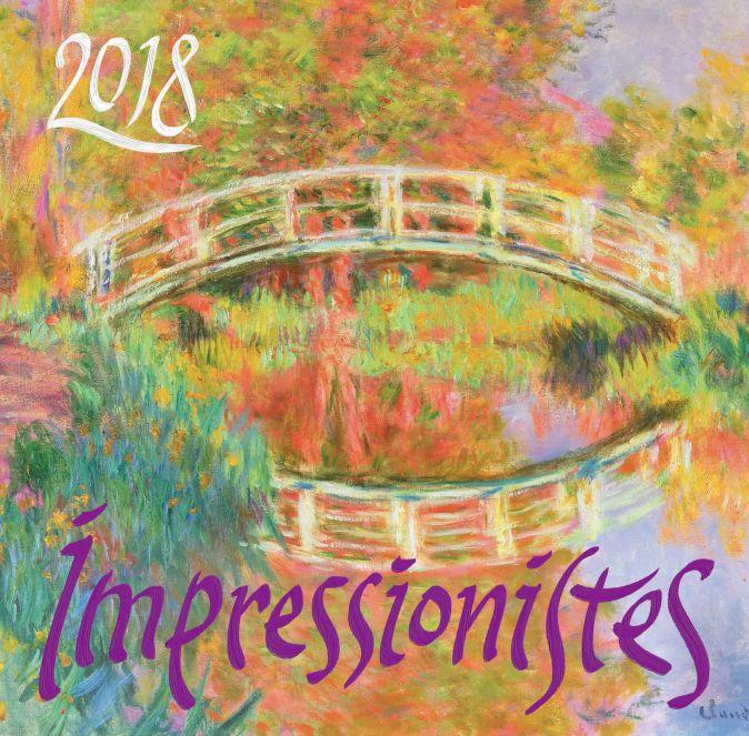 Импрессионисты. Календарь настенный на 2018 год