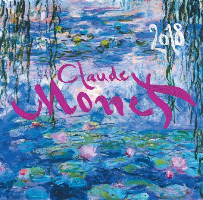 Клод Моне. Календарь настенный на 2018 год