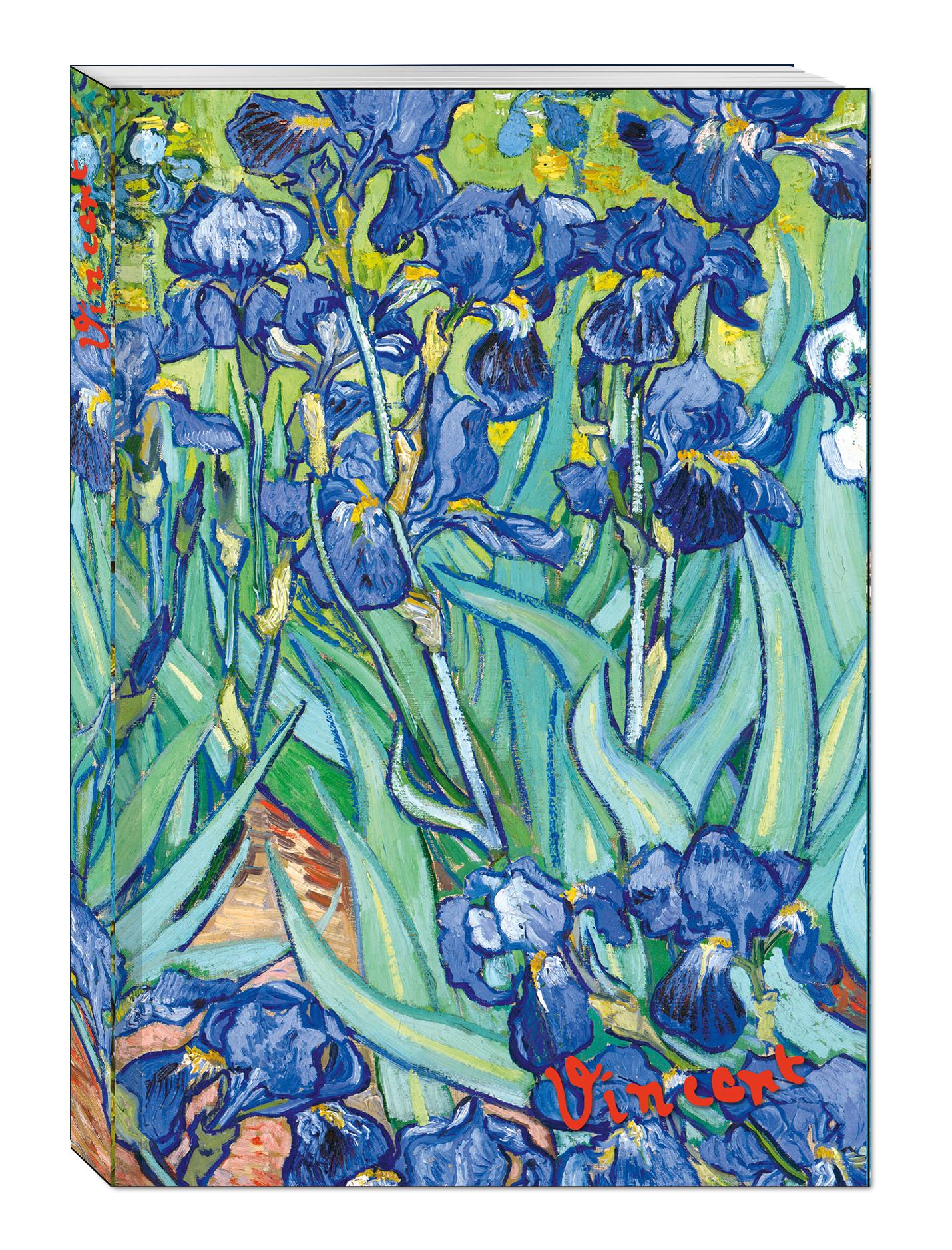 Блокнот в пластиковой обложке. Ван Гог. Ирисы (формат А5, 160 стр.) (Арте) блокнот не трогай мой блокнот а5 144 стр