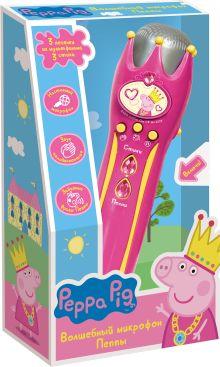 Музыкальный микрофон с усилителем ТМ Peppa Pig