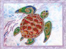 Картины из пайеток. Подводный мир - картина из пайеток (CME007)