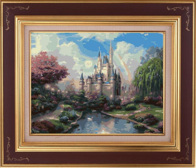 Раскраски по номерам ТМ Color KIT. Сказочный замок - картина по номерам (CG400) наборы для рисования цветной раскраски по номерам шторм