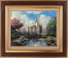 Раскраски по номерам ТМ Color KIT. Сказочный замок - картина по номерам (CG400)