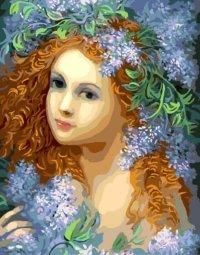 Раскраски по номерам ТМ Color KIT. Молодость весны -картина по номерам (CG667)