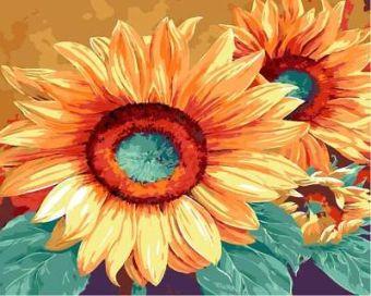 Раскраски по номерам ТМ Menglei. Подсолнухи Марианны Брум - картина по номерам (MG653)