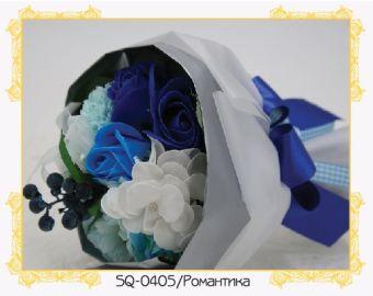 Цветы и букеты из мыла. Роза лиловая - цветок из мыла (SQ-06)