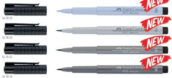 Капиллярные ручки Pitt Artist Pen Soft Brush, в карт. коробке, 10 шт, темный индиго