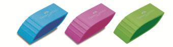 Ластик фигурный, яркие цвета, в картонной коробке, 24 шт.